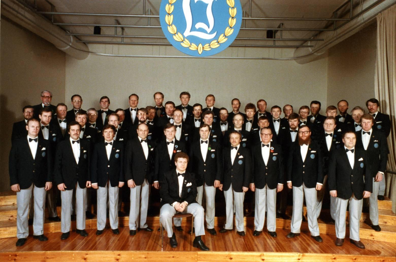 Laulu-Jaakkojen kevätkonsertti 1984