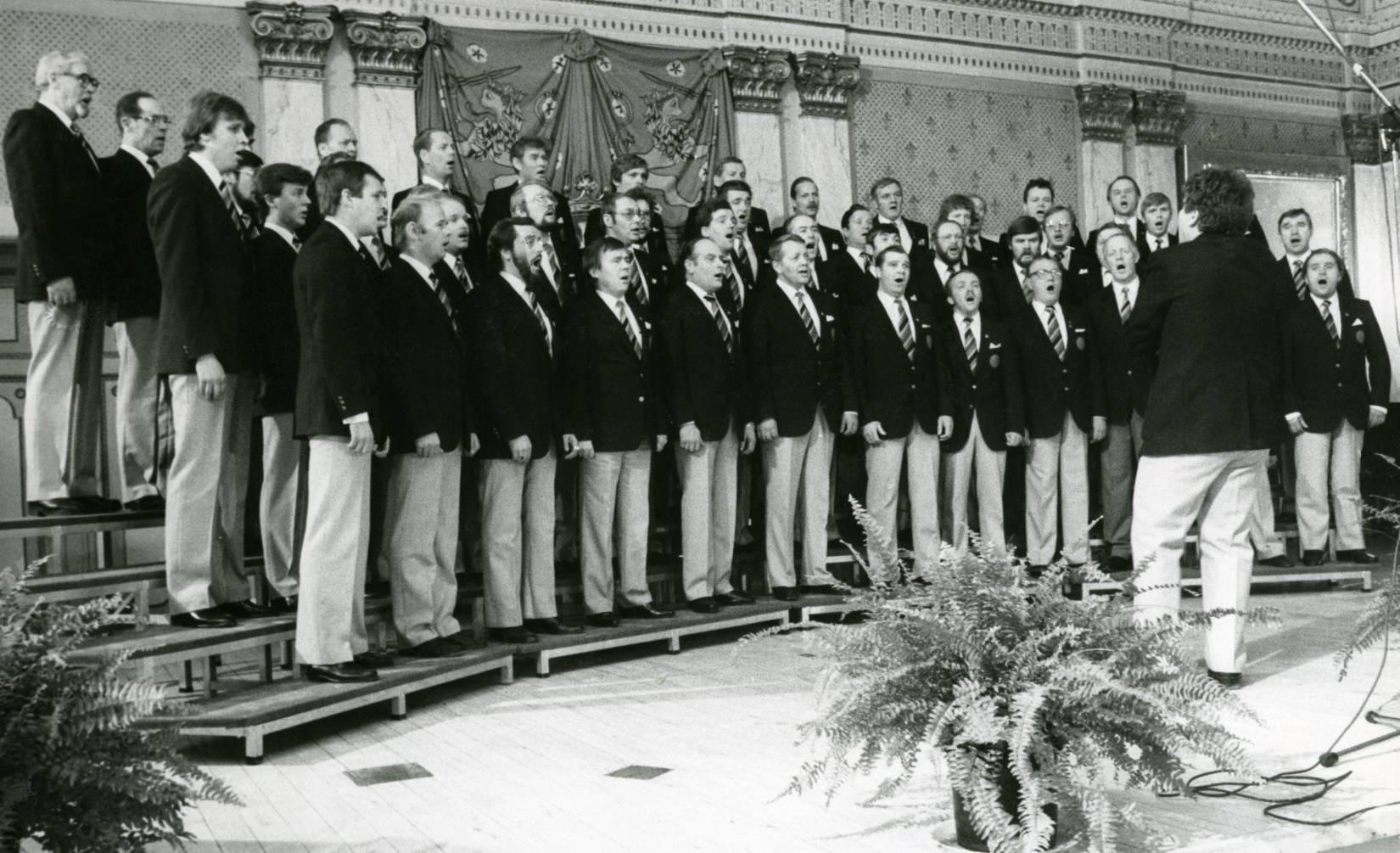 Laulu-Jaakkojen konsertti maaherran juhlissa