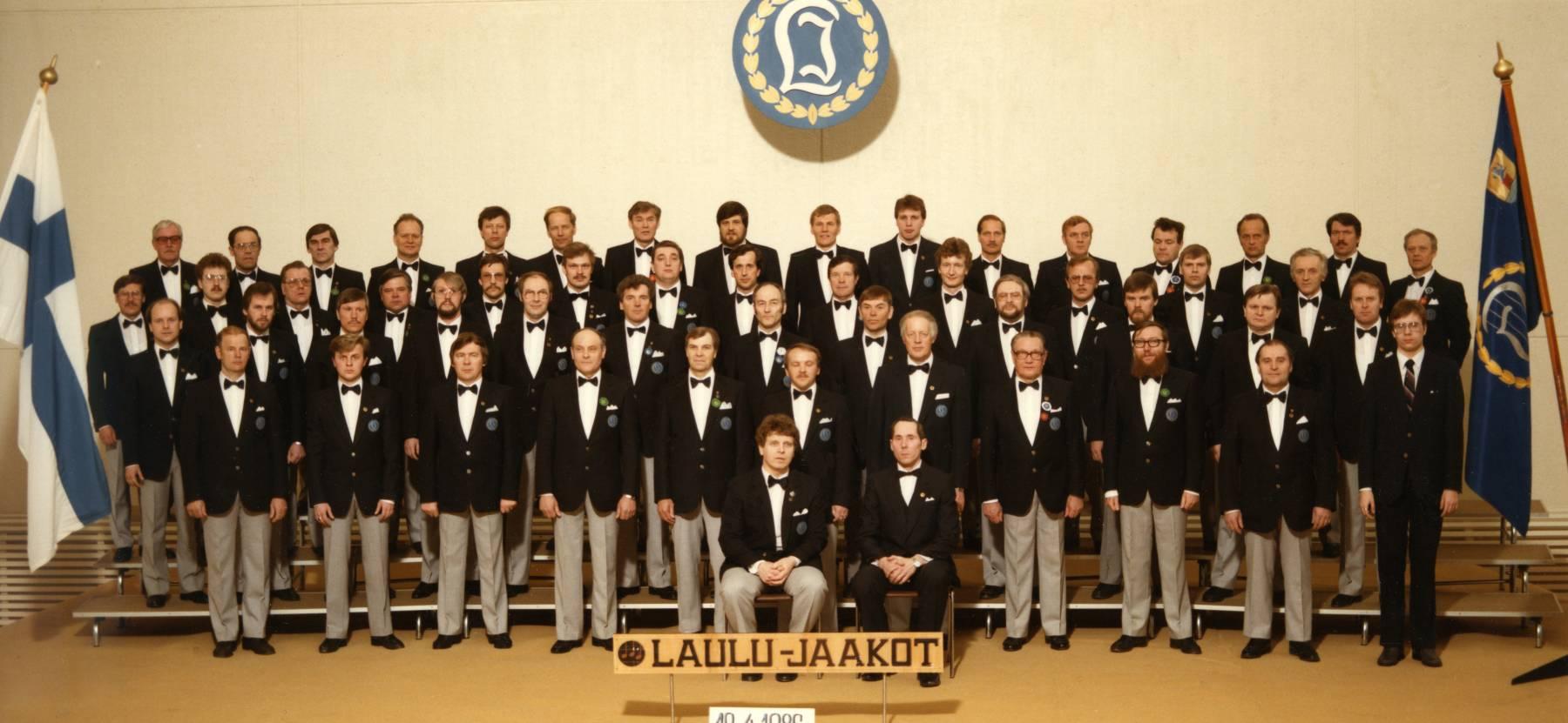 Laulu-Jaakkojen 40-vuotisjuhlakonsertti