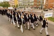 Laulu-Jaakot Sulasolin kuorojuhlilla Oulussa
