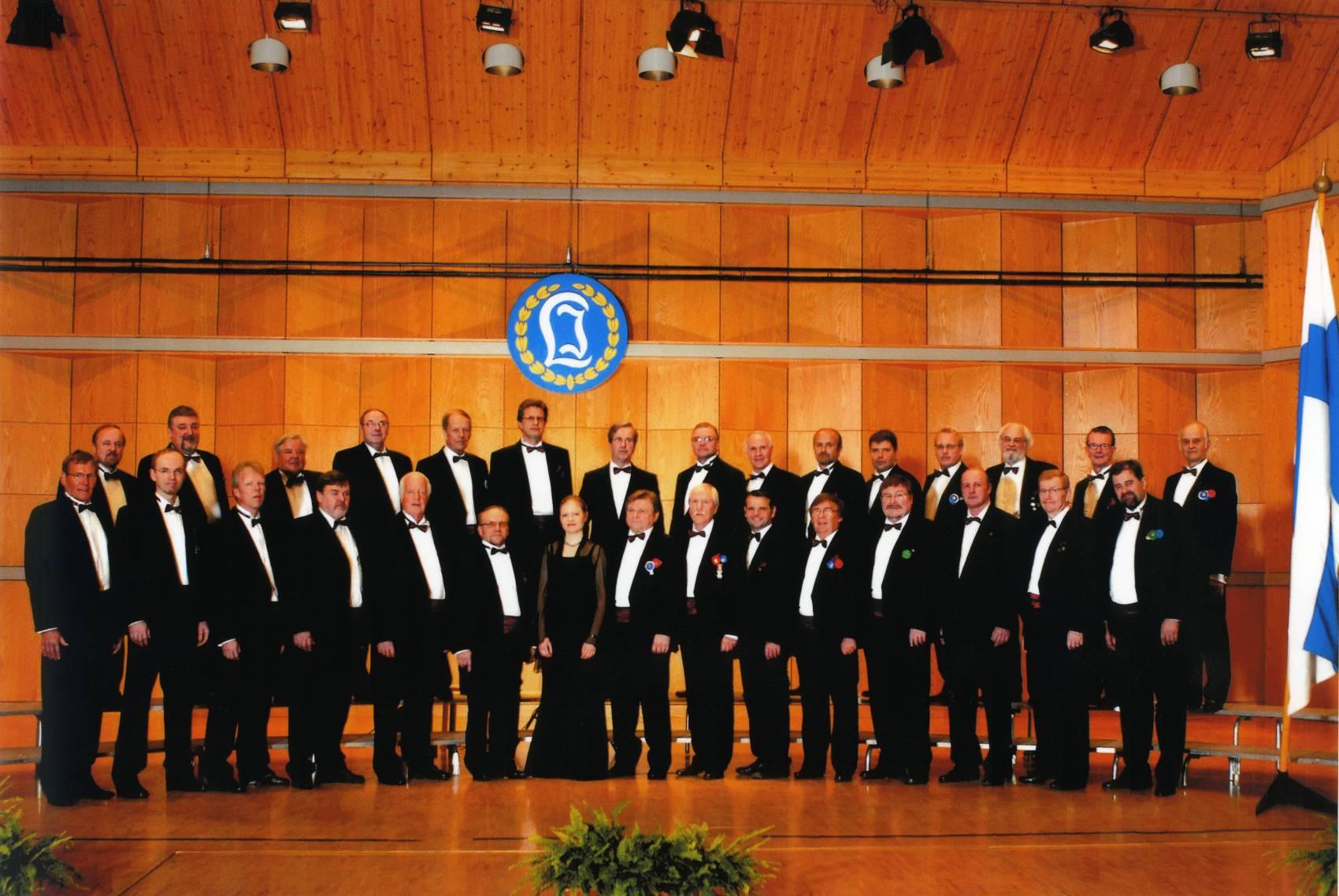 Laulu-Jaakkojen kevätkonsertti v. 2007