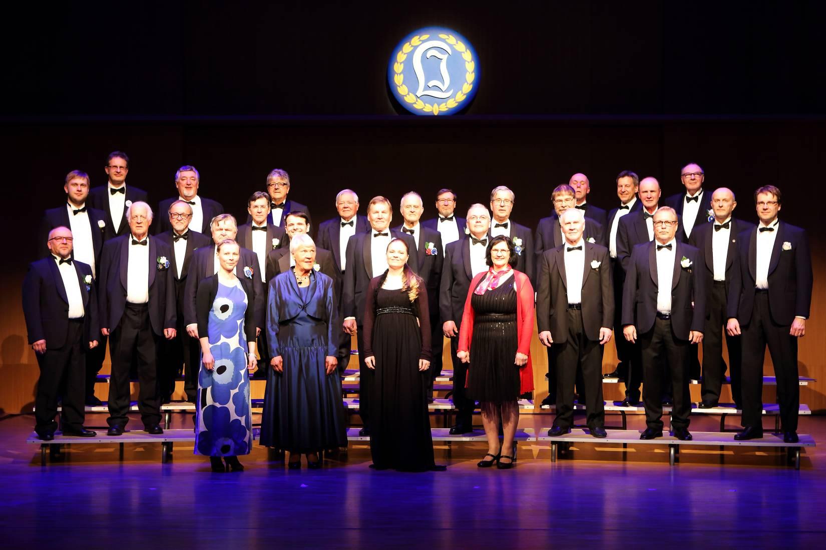 Laulu-Jaakkojen 70-vuotisjuhlakonsertti v. 2016