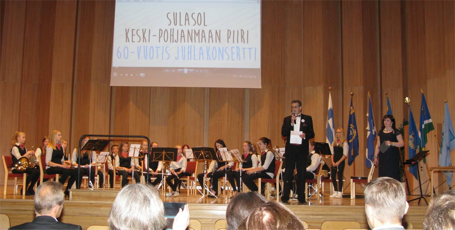 Sulasolin 60-vuotisjuhlat Kokkolassa