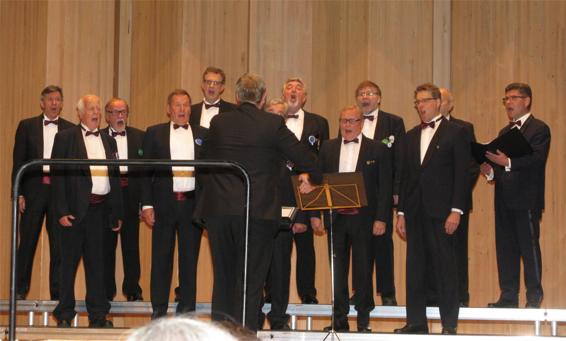 Laulu-Jaakot Sulasolin 60-vuotisjuhlilla