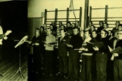 Laulu-Jaakkojen harjoitukset Ristikarilla
