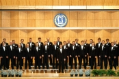 Laulu-Jaakkojen kevätkonsertti v. 1990