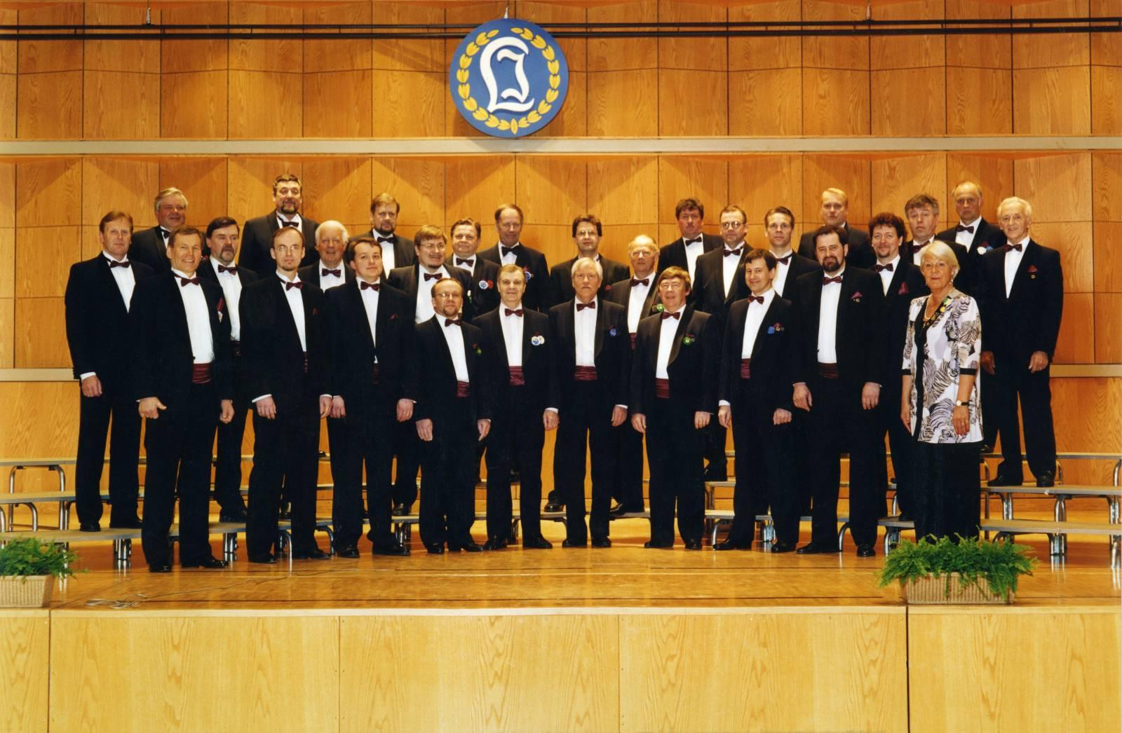 Laulu-Jaakkojen kevätkonsertti v. 1999