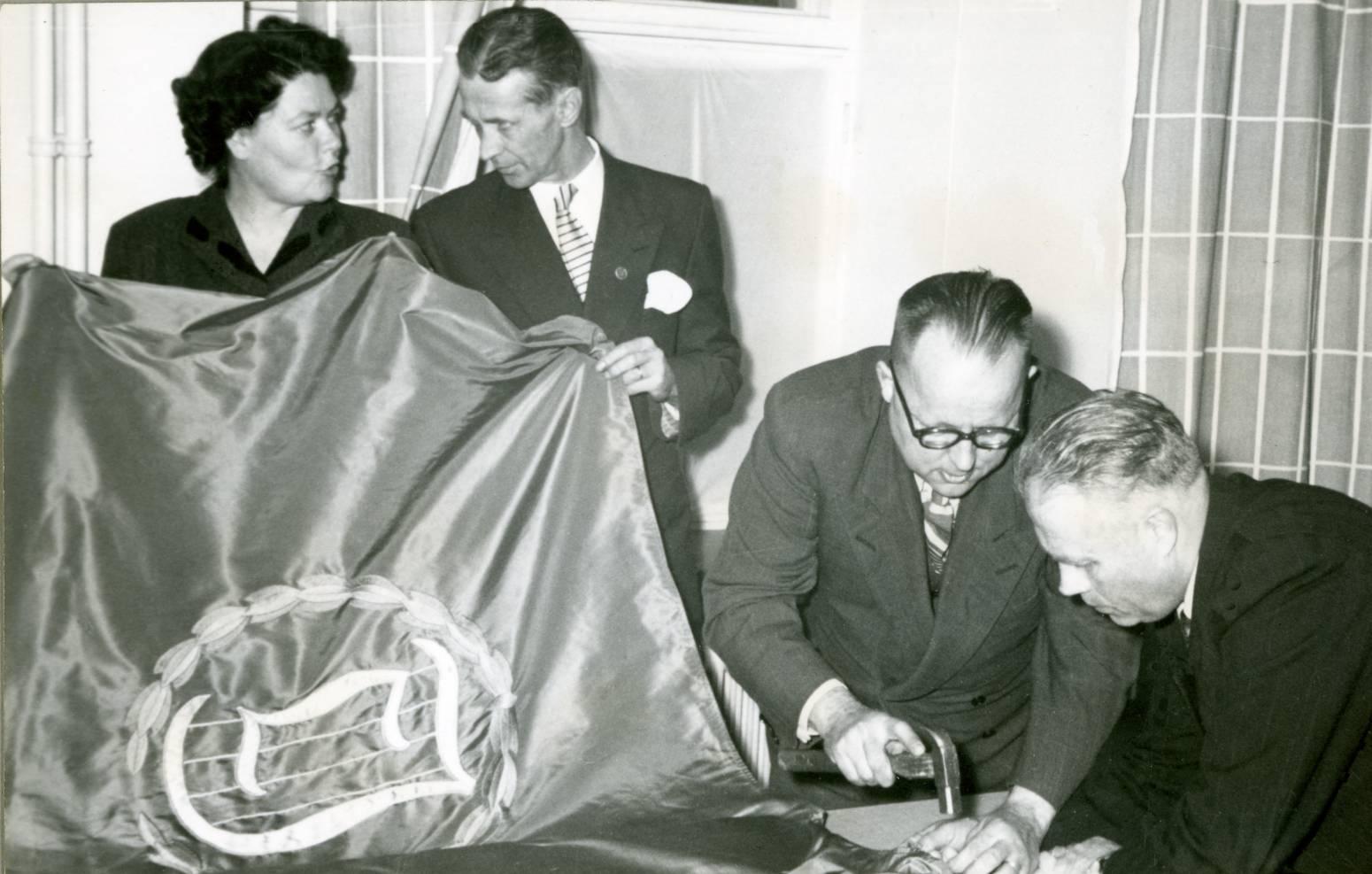 Pietarsaaren Laulu-Jaakoille oma lippu