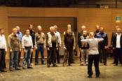 Laulu-Jaakot Kansanmusiikkikeskuksessa Kaustisella